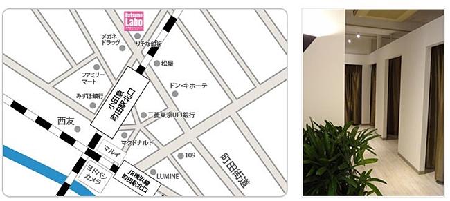 地図 町田店