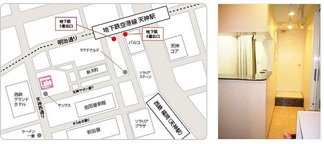 地図天神西通り店