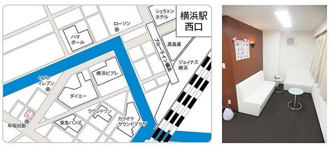 地図 横浜店
